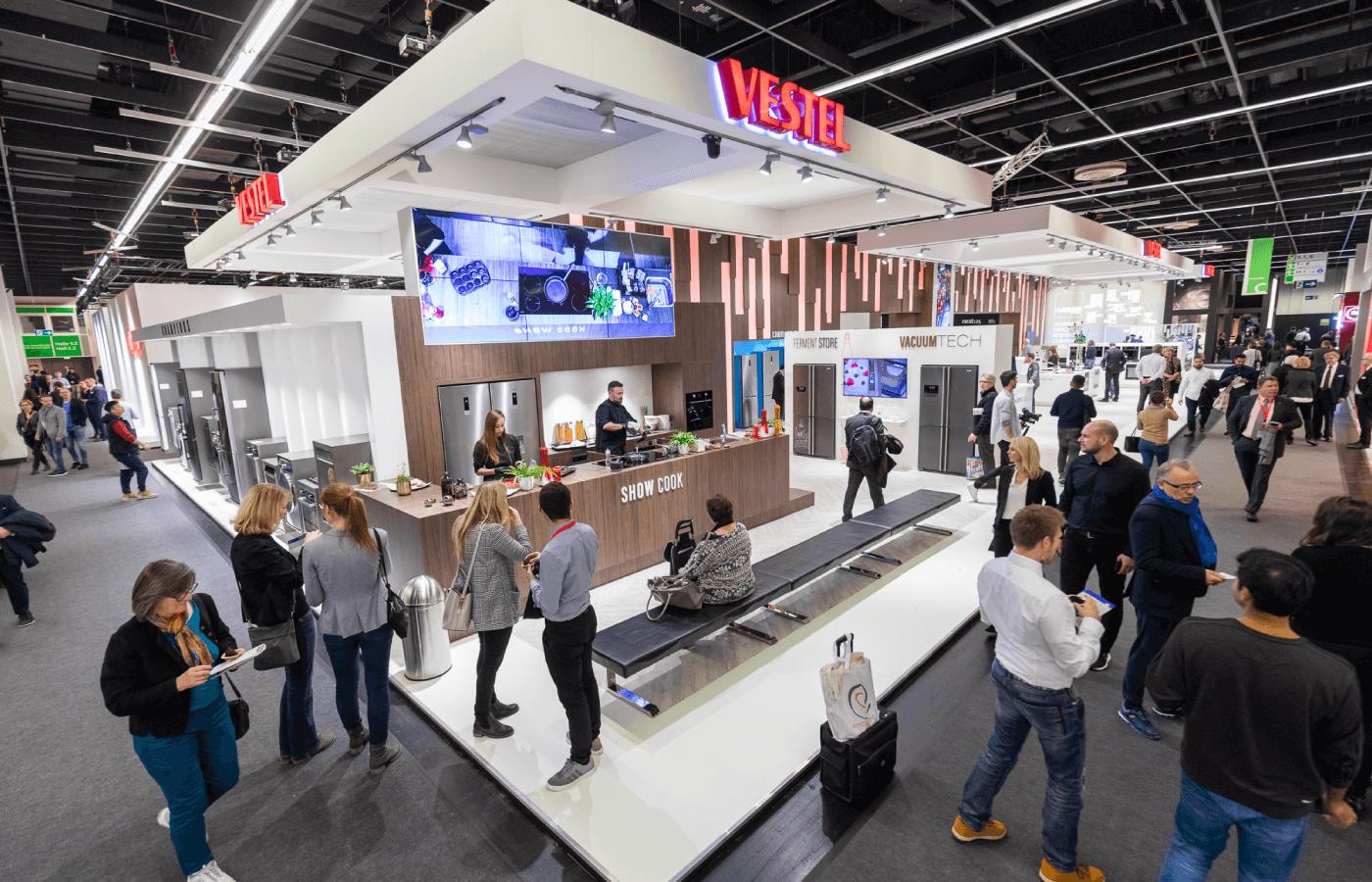 Vestel auf der LivingKitchen 2019: konsequente Ansprache der Küchenbranche