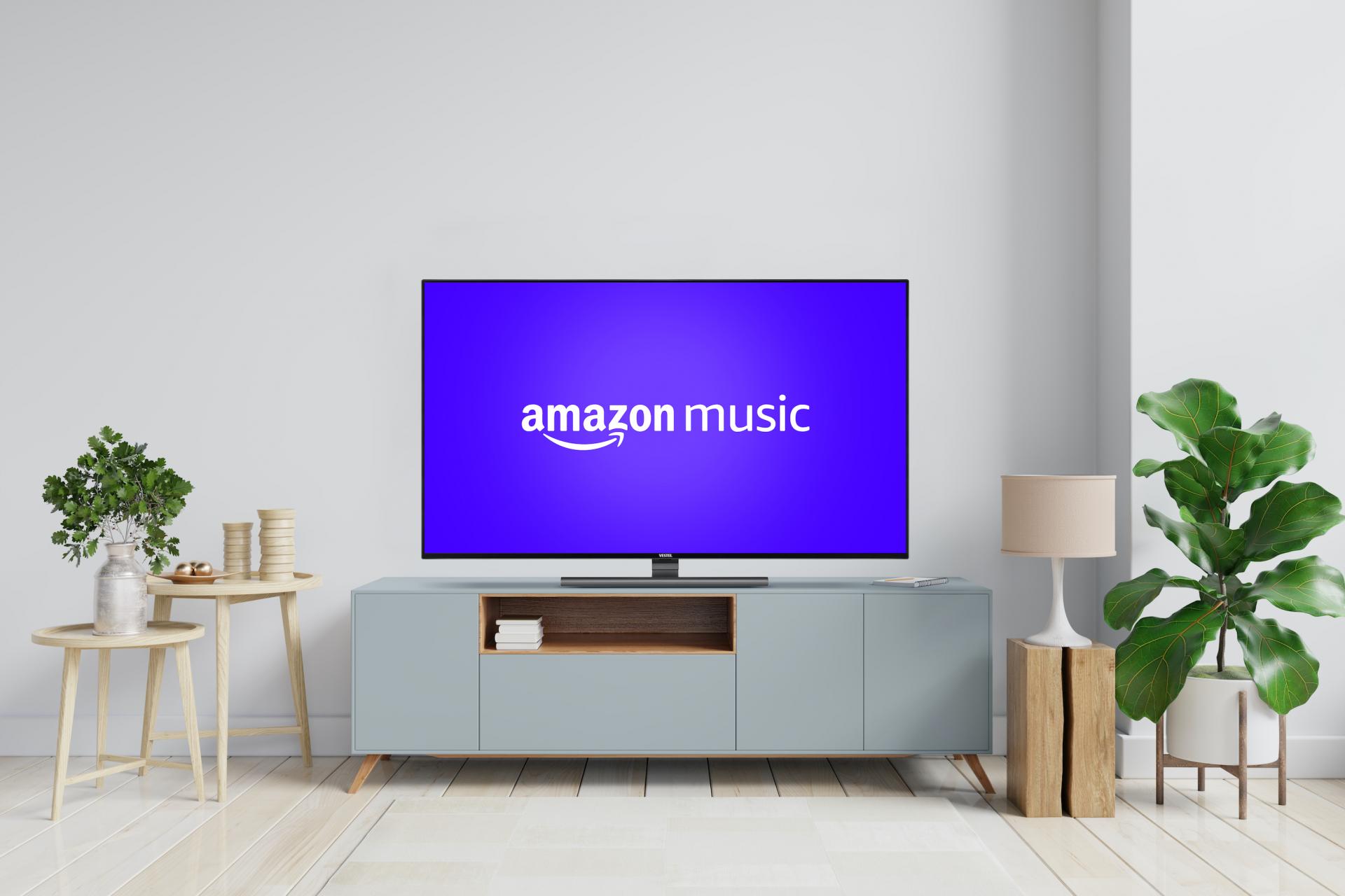 Vestel integriert Amazon Music auf Smart TVs in Europa